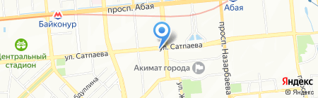 Tira Vento Group на карте Алматы