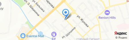 Алибек продуктовый магазин на карте Алматы