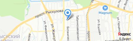 Елена продовольственный магазин на карте Алматы