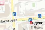 Схема проезда до компании Шах в Алматы