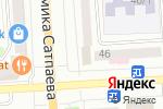 Схема проезда до компании Flower Lab в Павлодаре