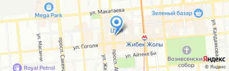 Мирэ на карте Алматы