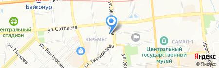 Ahsel Group на карте Алматы