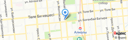 Сат Жол Технолоджис на карте Алматы