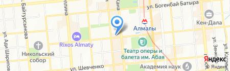 Французский дом на карте Алматы