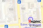 Схема проезда до компании КазИнтерСервис в Алматы