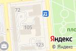 Схема проезда до компании САД в Алматы