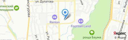 TAHMINA GREEN CITY на карте Алматы