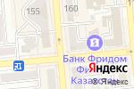 Схема проезда до компании 19 Bread and Coffee в Алматы