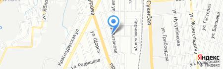 Ак Жол продовольственный магазин на карте Алматы