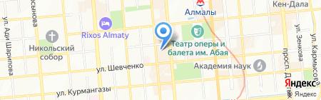 ComeIn на карте Алматы