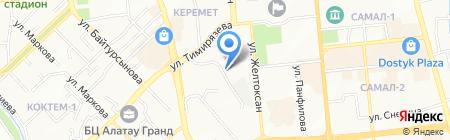BOHEMIA ENTERTAINMENT на карте Алматы