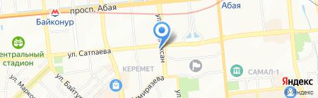 Khassanov на карте Алматы