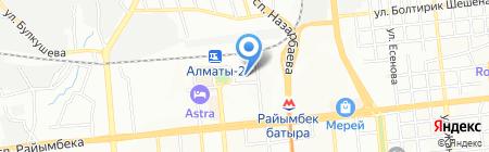 EMS Kazpost на карте Алматы