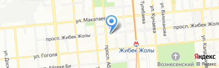 Amares на карте Алматы