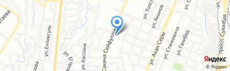 АЗС Сокол на карте Алматы