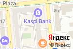 Схема проезда до компании Сова в Алматы