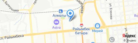 Тахар ТОО на карте Алматы