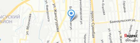 Барух на карте Алматы
