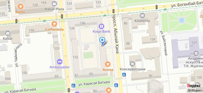Казахстан, Алматы, проспект Абылай Хана, 113