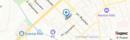Estate на карте Алматы