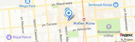 AsiaCreditBank на карте Алматы
