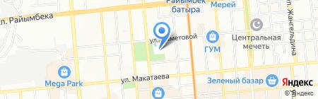 Казахский государственный академический театр детей и юношества им. Г. Мусрепова на карте Алматы