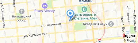PRIMAVERA на карте Алматы