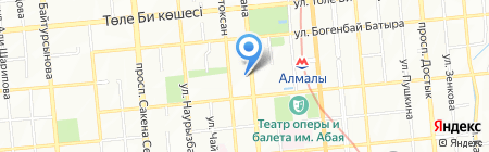 Fab & Glam на карте Алматы