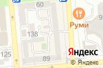 Схема проезда до компании IQ 007 в Алматы