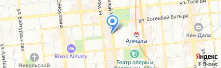 Шкода на карте Алматы
