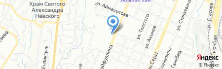 Ветстанция на карте Алматы