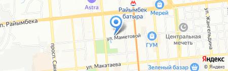 Орион Казахстан на карте Алматы