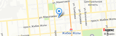 Алатау Енбек Курылыс на карте Алматы