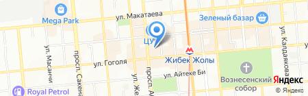 AВ Соnsult на карте Алматы