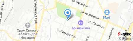 Daryn Engineering на карте Алматы