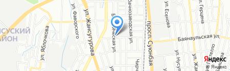 Тоспа Су на карте Алматы