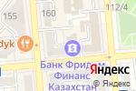 Схема проезда до компании Kassa Nova банк в Алматы