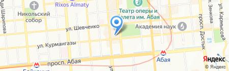 Арал Петролеум Кэпитал на карте Алматы
