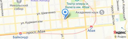 Мир Платьев на карте Алматы