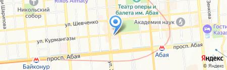 Ностальгия на карте Алматы