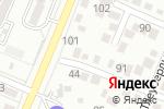 Схема проезда до компании Altyn Alma в Алматы