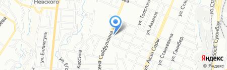 ALTYN ALMA на карте Алматы