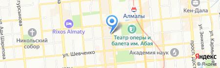 Д`Рами на карте Алматы