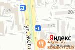 Схема проезда до компании Казсимвол в Алматы