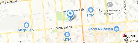 ЭКО-DENT на карте Алматы