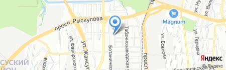 HomeLiness на карте Алматы