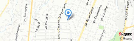 Гридан-Коммерц на карте Алматы