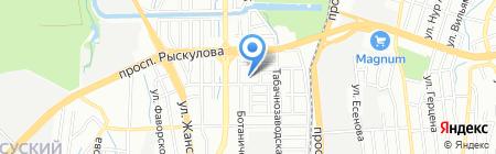 Общеобразовательная школа №43 на карте Алматы