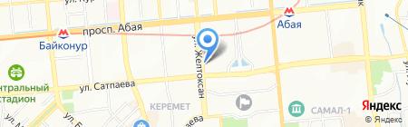 Казспецпредприятие на карте Алматы